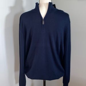 JOS. A. BANK 1/2 Zip up Pullover NWT